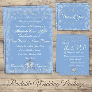 cinderella wedding invitation kit cinderella wedding With wedding invitations and rsvp kits