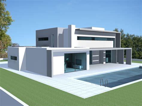 photo de maison neuve moderne toit plat 16 jpg