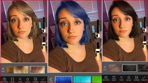 change your hair color apps androiddig