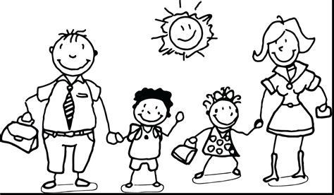 Printable Coloring Pages For Preschool Printable My Family Preschool Printable
