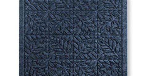 llbean doormat waterhog indoor doormat leaf pattern waterhog mats