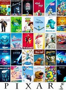 Pixar Movie Poster Collage | Pixar Movie Posters ...