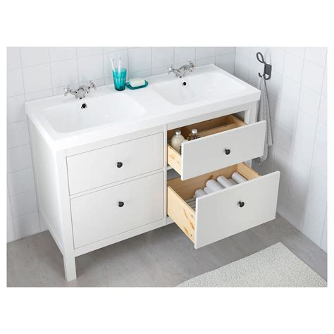 Bathroom Sink And Cabinet Ikea by Ikea Hemnes Odensvik Sink Cabinet With 4 Drawers White