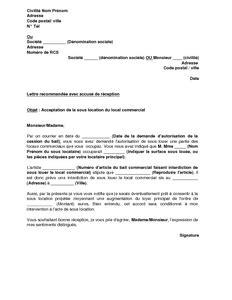 modèle lettre de partenariat commercial exemple gratuit de lettre r 233 ponse favorable 224 demande sous