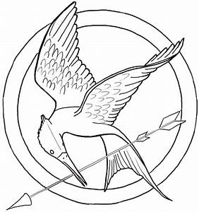 Drawn symbol hunger games - Pencil and in color drawn ...
