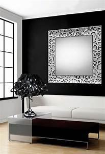 foto espejos modernos de madera colección algeciras
