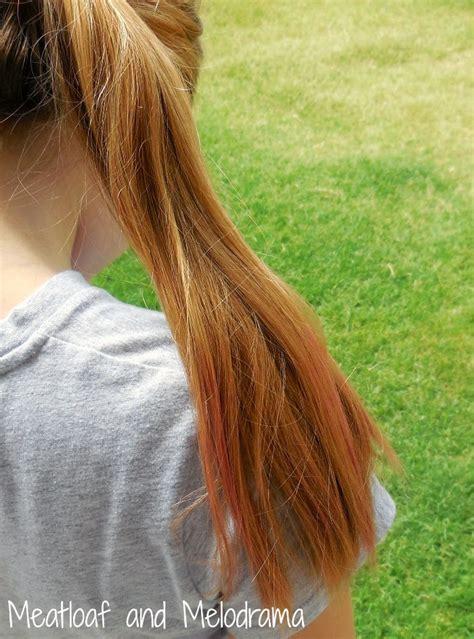diy temporary hair dye meatloaf  melodrama