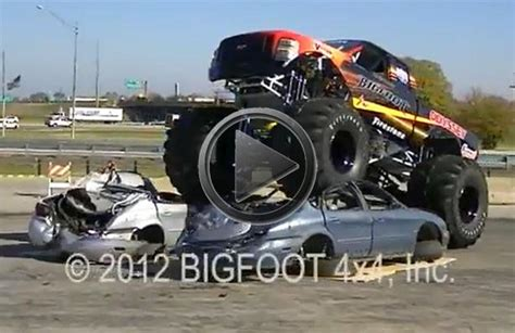 bigfoot electric monster truck image gallery 2014 bugatti truck