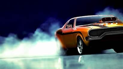 Burnout Muscle Cars Paradise Wallpapers Racing Background