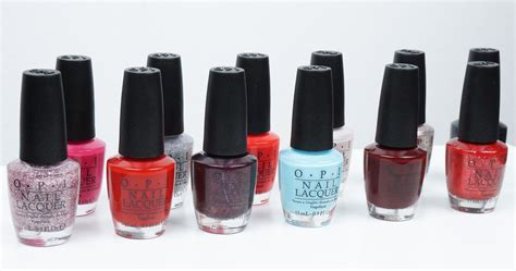 Opi Breakfast At Tiffany's Swatches And Review