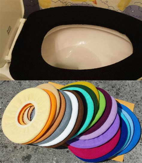 bathroom toilet seat warmer cover washable pick