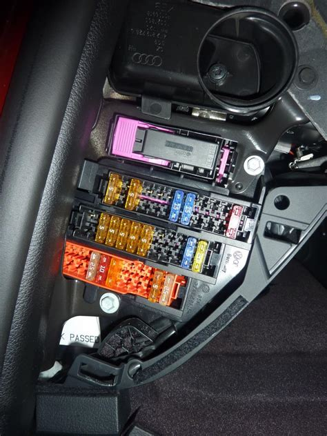 Audi A6 Rear Fuse Box by Can Connections Audi Forums