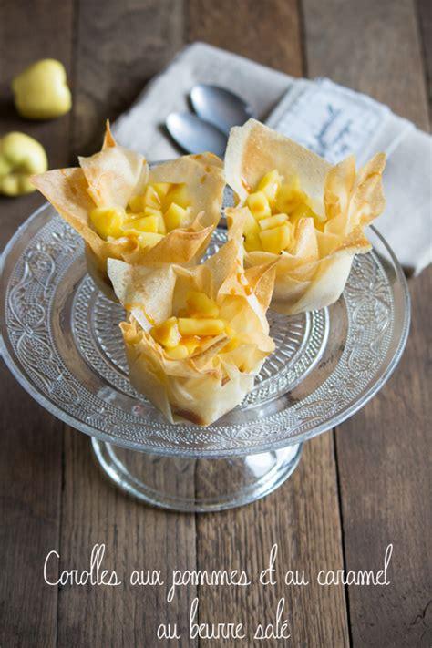 jeux de cuisine dessert corolles aux pommes et au caramel au beurre salé recette