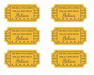 Search results for polar express golden ticket free for Polar express golden ticket template