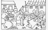 Coloring Garden Pages Printable Gardening Colouring Flower Getdrawings Gambar Children Print Scenery Amazing Mewarnai Gnome Sheets Insect Spring Vs Sketsa sketch template