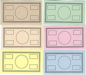 free printable play money blank monopoly money template With monopoly money templates