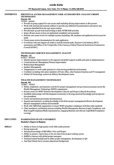 Technology Resume by Technology Management Resume Sles Velvet