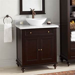 30, U0026quot, Keller, Mahogany, Vessel, Sink, Vanity, -, Dark, Espresso, -, Wood, Vanities