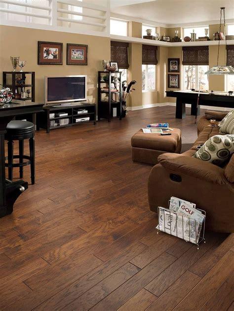 Living Room Modern Contemporary Wood Look Dark in 2020
