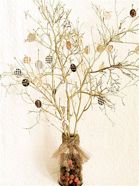 thanksgiving tree centerpiece hgtv