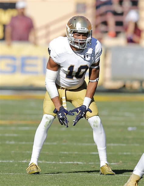 notre dame football notes touted safety max redfield