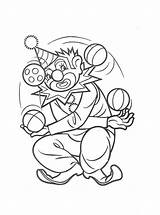 Coloring Pages Clowns Printable Clown Scary Colouring Animated Sheets Coloringpages1001 Last Picgifs Stencils sketch template