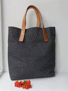 DIY Leather Handle Bag