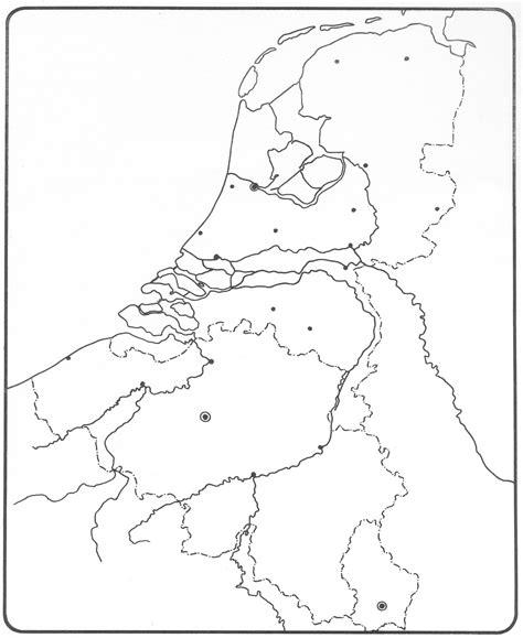 Kleurplaat Nederland Provincies by Kaart Provincies Nederland Kleurplaat Kleurplaat Nederland