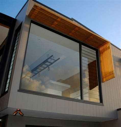 windows  timber awning north curl curl web house
