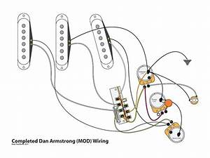 dan armstrong strat mod youtube With strat series wiring