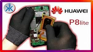 Huawei P8 Lite Ale L21  Cambio Pantalla Lcd   Tactil