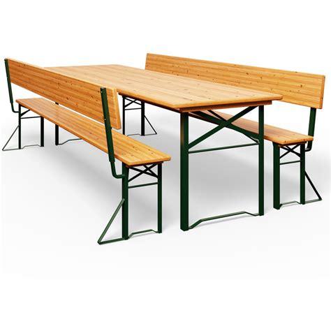 Table Banc Pliable Table Pliable Et X Bancs Avec Dossier