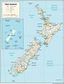 New Zealand Map | Fotolip.com Rich image and wallpaper