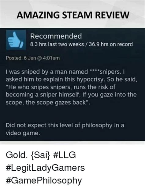 25+ Best Steam Reviews Memes  8 3 Memes, Lunging Memes
