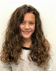 Girls with Curly Hair Hairstyles