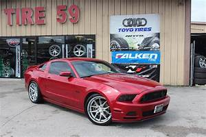 Ford Mustang GT S197 Red Ferrada FR2 | Wheel Front