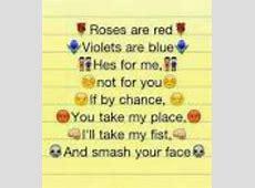 Say this poem to your boyfriend's ex! #Ex Bullishhhh