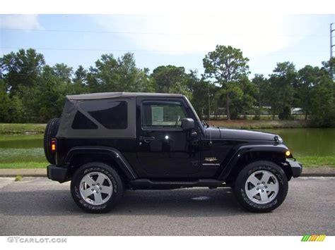 jeep sahara black 2007 black jeep wrangler sahara 4x4 15065428 gtcarlot