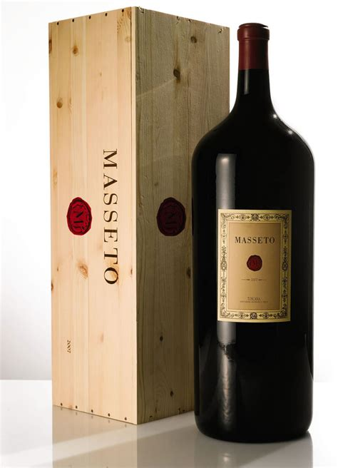a 15 liter bottle of masseto wine sells for 49 000 at sotheby s auction extravaganzi