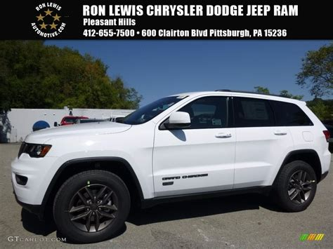 white jeep cherokee 2017 2017 bright white jeep grand cherokee 75th annivesary