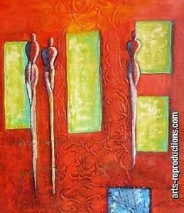 Reproduction Tableau Sur Toile : toile peinture abstrait yvab1175 tableau tableaux abstraits arts reproductions peinture l ~ Teatrodelosmanantiales.com Idées de Décoration