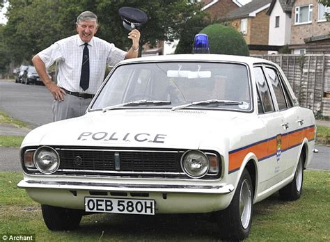Straight Out Of Z-cars! Former Police Officer Reunited