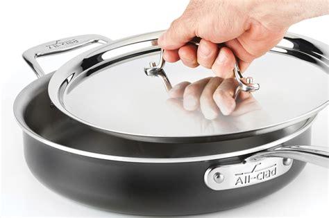 clad  saute pan  quart cutlery