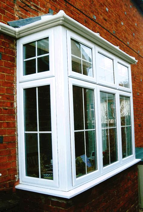Decorating Stunning Modern Pictures Of Bay Windows Brown