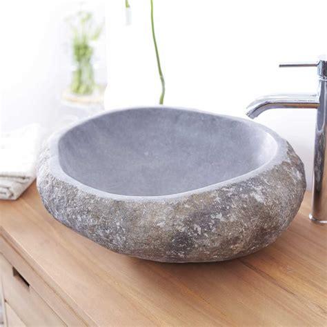 vasque en de riviere vasque en de rivi 232 re vasques forme galet nobu sur tikamoon