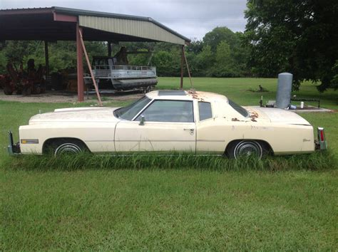 Cadillac Car For Sale by 1976 Cadillac Eldorado Project Car For Sale