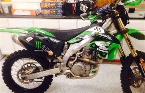 ebay motocross bikes for sale kawasaki 2008 kx450f dirt bike