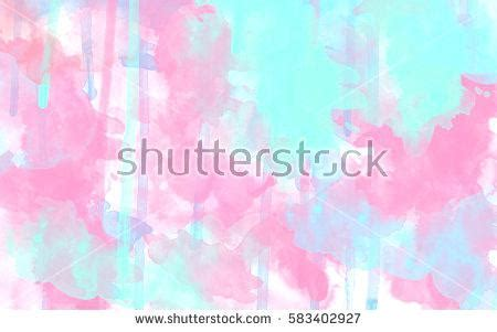 Pink And Blue Wallpaper Non Woven Triangles Light Pastel