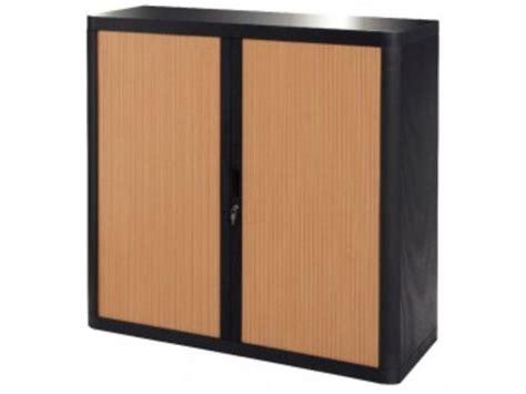 mon bureau et moi armoire rideau 2 tablettes noir hêtre contact mon bureau
