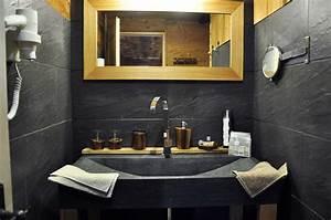 deco salle de bain montagne With salle de bain montagne